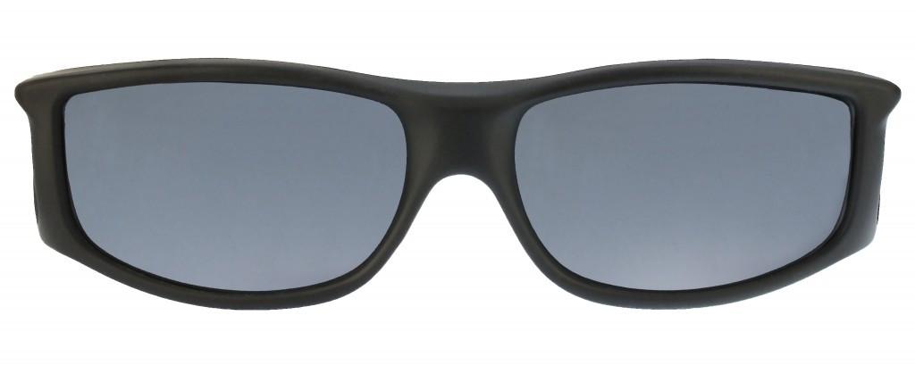 f825915b6912c Jonathan Paul® Fitovers Eyewear Large Jett in Matte-Black   Gray JT001 -  Polarized World