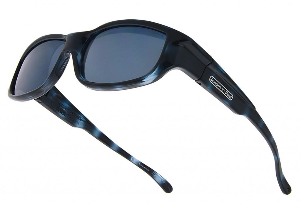 1da034de08cf9 Jonathan Paul® Fitovers Eyewear Large Torana in Blue-Demi   Gray TR001 -  Polarized World