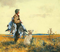 Hunting Theme 240-68d-1 Artwork Micro Fiber Cleaning Cloth