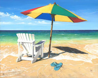 Beach Chair & Umbrella 240-10d-6 Artwork Micro Fiber Cleaning Cloth