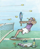 Tennis Artwork 240-04d-3 Micro Fiber Cleaning Cloth