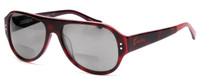 Lucky Brand Backbeat Polarized Bi-Focal Reading Sunglasses in Tortoise-Pink