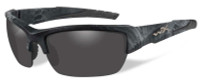 Wiley-X™ Designer Sunglasses WX Valor in KRYPTEK TYPHON™ Frame & Polarized Smoke Grey Lens