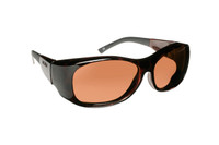 Haven Designer Fitover Sunglasses Sunset in Tortoise & Polarized Amber Lens (LARGE)