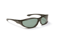 Haven Designer Fitover Sunglasses Tolosa in Black & Polarized Grey Lens (MEDIUM)