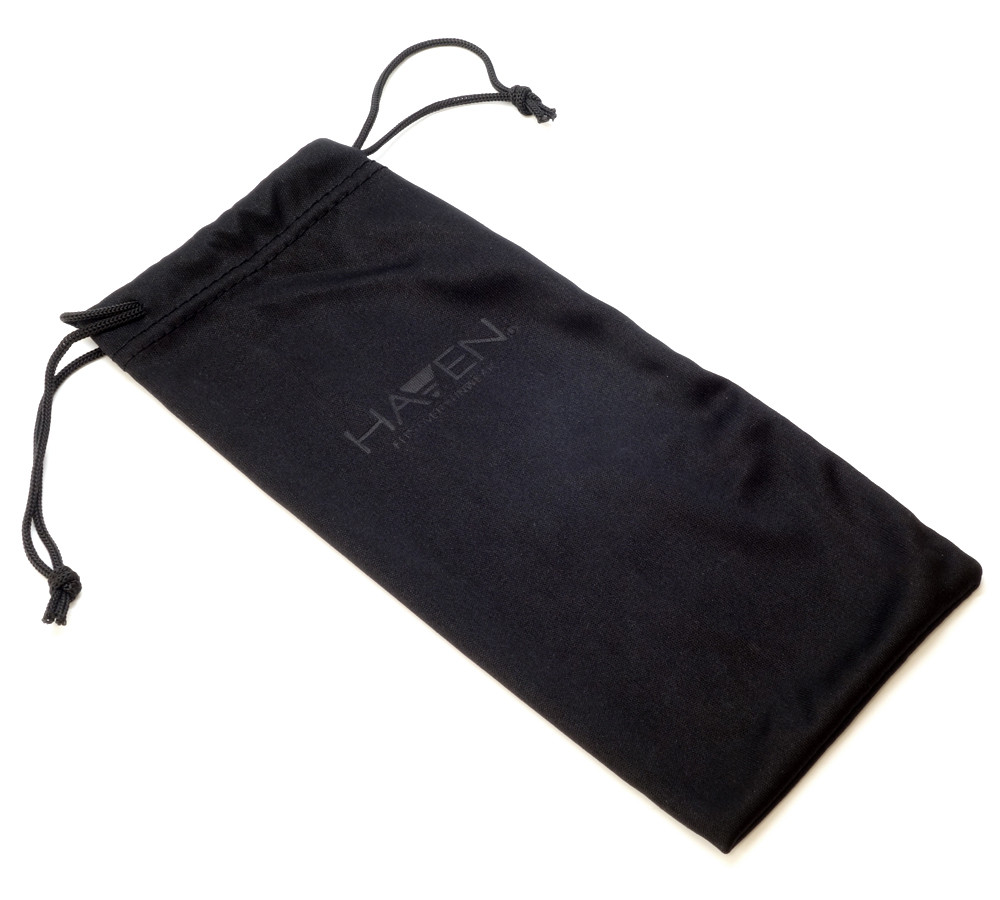 Included Haven Drawstring Carrying Case