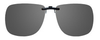 Montana Eyewear Clip-On Sunglasses C11 in Polarized Grey 62mm