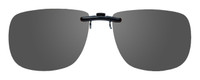 Montana Eyewear Clip-On Sunglasses C12 in Polarized Grey 54mm
