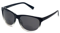 Coyote™ BP-18 Polarized Bi-focal Reading Sunglasses in Black & Grey