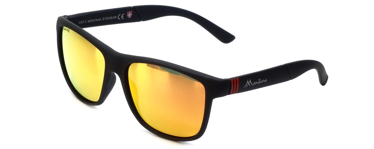 33cd3898577 Montana Eyewear Designer Polarized Sunglasses MS312C in Matte-Black ...