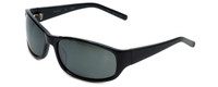 Reptile Designer Polarized Sunglasses Crocodile in Black with Grey Lens