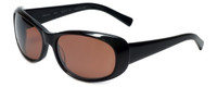 Reptile Designer Polarized Sunglasses Medusa in Black with Amber Lens