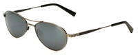 Reptile Designer Polarized Sunglasses Santiago in Antique-Silver with Flash Mirror Lens