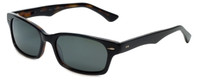 Reptile Designer Polarized Sunglasses Slither in Black with Flash Mirror Lens