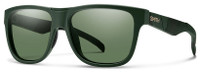Smith Optics™ Lowdown Designer Sunglasses in Matte Olive Camo with ChromaPop Polarized Gray/Green Lens