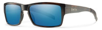 Smith Optics™ Outlier Designer Sunglasses in Matte Tortoise with ChromaPop Polarized Blue Mirror Lens