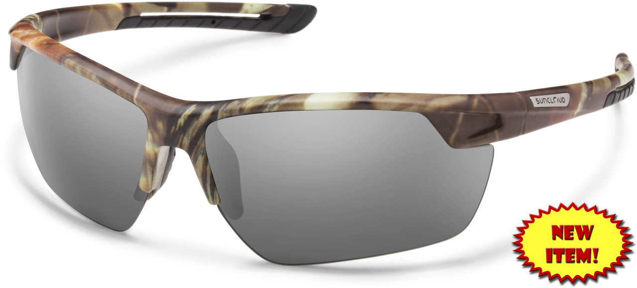 6926999caf9 Suncloud Contender Polarized Sunglasses in Matte Camo   Grey Lens ...