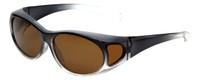 Calabria P2866POL-2T Polarized Fit-Over Sunglasses Medium Size