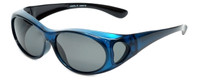 Calabria PC8866POL-CR Polarized Fit-Over Sunglasses Medium Size