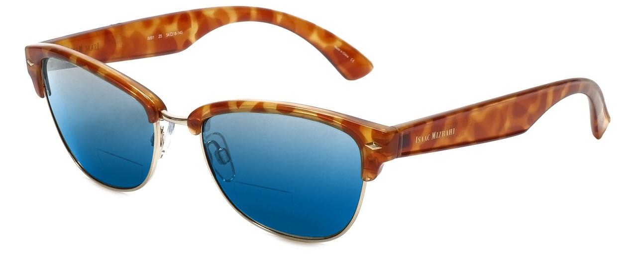 Honey Tortoise/Blue Mirror