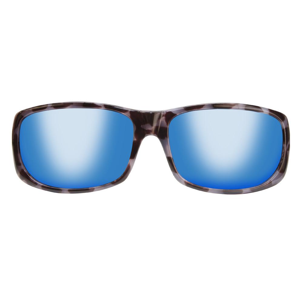 7489f2e84bfd8 Jonathan Paul® Fitovers Eyewear Large Pandera in Black Marble   Blue Mirror  PD003BM - Polarized World