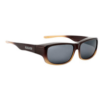 Jonathan Paul® Fitovers Eyewear Large Pandera in Toffee Ombre & Gray PD005
