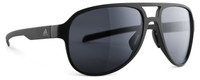 Adidas Polarized Sunglasses Pacyr in Matte Black & Grey Lens