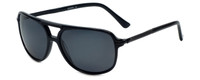 Azzaro Designer Polarized Sunglasses AZ4396-C1 in Black 58mm