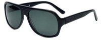 Azzaro Designer Polarized Sunglasses AZ4399-C1 in Black 61mm