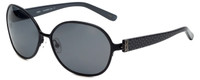 XOXO Designer Polarized Sunglasses Capri in Black