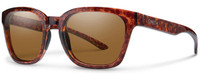 Smith Optics Founder Slim Designer Sunglasses in Vintage Havana with Polarized ChromaPop Brown Lens