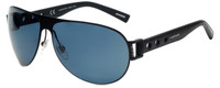 Chopard Designer Polarized Sunglasses SCHB83-531Z in Shiny Matte Black with Grey Lens
