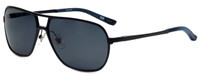Argyleculture T-Bone Designer Polarized Sunglasses in Black with Grey Lens