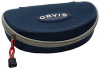 Orvis Semi-Hard Zippered Sunglass Case in Blue