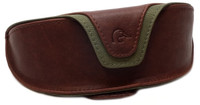 Ducks Unlimited Leather Sunglass Case with Velcro Belt Loop