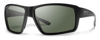 Smith Optics Colson Designer Sunglasses in Matte Black with Polarized Grey Lens