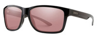 Smith Optics Drake Designer Sunglasses in Black with Polarized Ignitor Lens