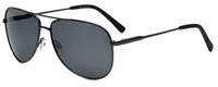 Vivid Polarized Aviator Sunglasses 788S in Gunmetal with Grey Lens