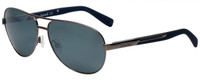Timberland TB9058-08D Designer Polarized Sunglasses in Gunmetal with Grey Lens