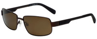 Timberland TB9060-49H Designer Polarized Sunglasses in Matte Brown with Brown Lens