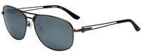 Timberland TB9073-09D Designer Polarized Sunglasses in Matte Gunmetal with Grey Lens