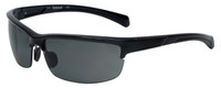 Timberland TB9103-01D Designer Polarized Sunglasses in Shiny Black with Grey Lens