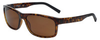 Timberland TB9104-52H Designer Polarized Sunglasses in Dark Havana with Brown Lens