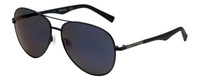 Timberland TB9109-02D Designer Polarized Sunglasses in Matte Black with Blue Flash Lens