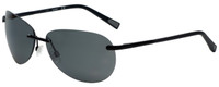 Timberland TB9117-02D Designer Polarized Sunglasses in Matte Black with Grey Lens