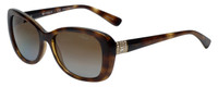 Vogue Designer Polarized Sunglasses VO2943-W656 in Havana with Brown Gradient Lens