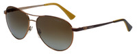 Vogue Designer Polarized Sunglasses VO3905-813 in Bronze with Brown Gradient Lens