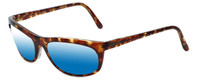 REVO Polarized Sunglasses 1001-008 in Tortoise with Blue Mirror Lens