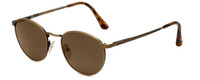 REVO Polarized Sunglasses 1603-010 in Vintage Gold with Brown Lens