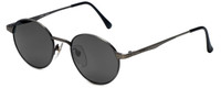 REVO Polarized Sunglasses 1202-011 in Vintage Silver with Grey Lens